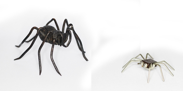 Viennese iron spider, computer chip spider